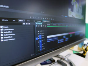 Master in editing video
