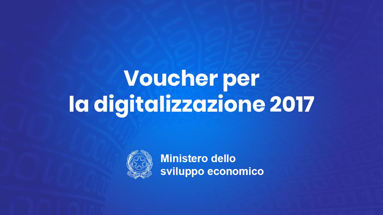 Voucher per la digitalizzazione delle Pmi: a disposizione 100 milioni di euro.